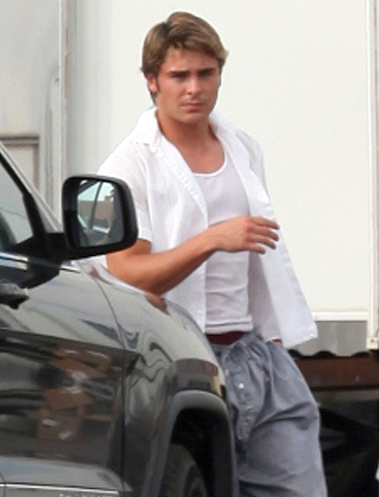 Zac Efron Goes Blond For The Paperboy