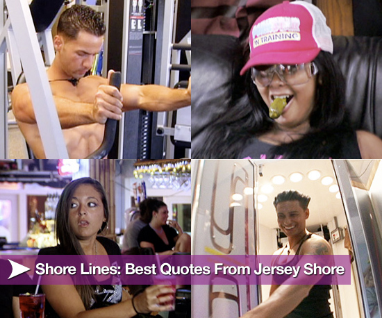 Shore Lines: Best Quotes From Jersey Shore