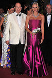 Princess Charlene and Prince Albert Have a Ball Together in Monaco