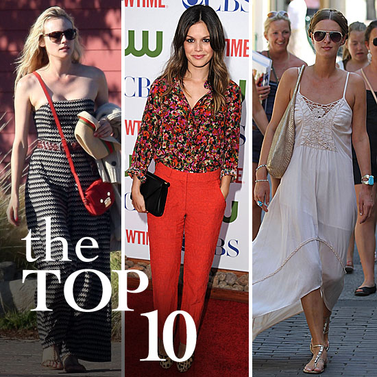 Fab's Top 10 Celebrity Looks of the Week — Diane, Nicky, Rachel, and More!