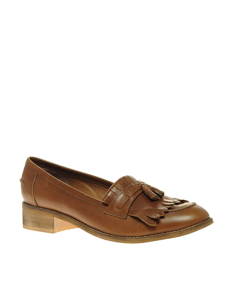 ASOS Merlin Leather Fringe Loafer ($86)