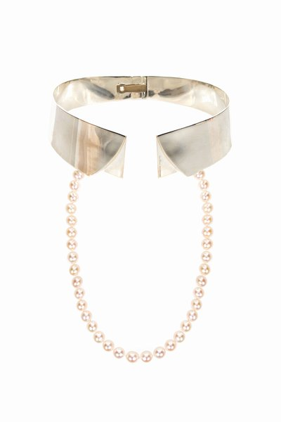 Delfina Delettrez Collar Shirt Necklace ($2,800)