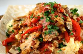 Biggest Loser Recipes - Biggest Loser Chicken Cacciatore