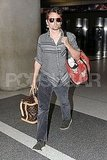 Matthew Bellamy was in charge of the bags at LAX.
