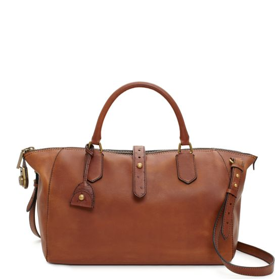 Westward Adventurer Satchel in Dark Roast, $795