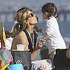 Sarah Michelle Gellar and Charlotte Prinze at the Beach Pictures
