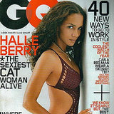 Leading up to the release of Catwoman, Halle Berry posed for GQ in August 2004.