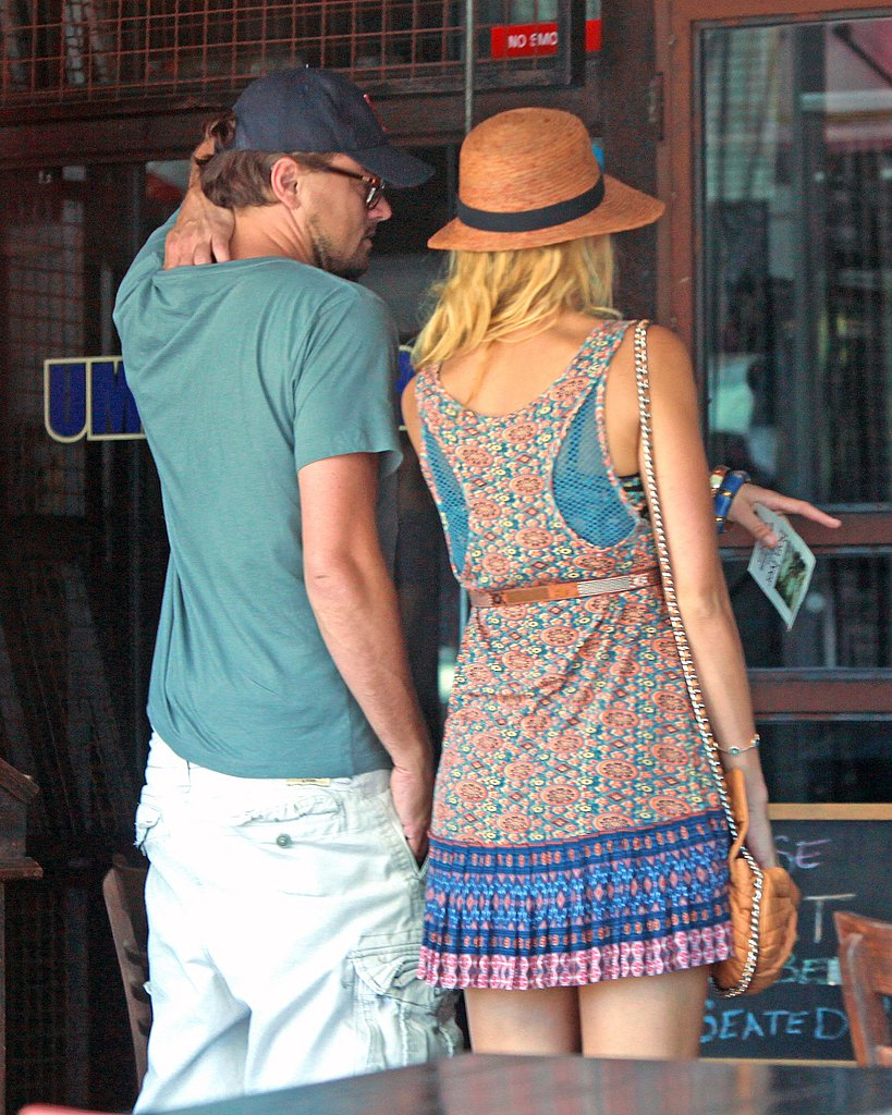 Blake Lively and Leonardo DiCaprio shop in LA.