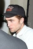 Robert Pattinson in an Orioles cap.