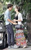 Emma Watson dating Johnny Simmons.