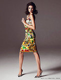 Fall is all about longer hemlines and we love the look of a fitted print dress in a figure-hugging shape.