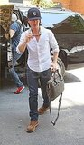 Tom Cruise runs errands in NYC.