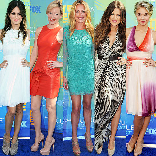 Nude Shoes at 2011 Teen Choice Awards