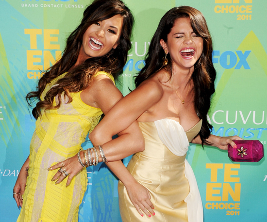The Top 10 Celeb Manis From the 2011 Teen Choice Awards