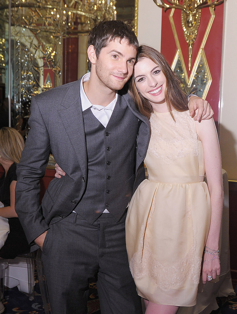 Anne Hathaway and Jim Sturgess in NYC for the One Day after party.
