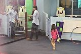 Tom Cruise takes Suri Cruise to her lesson.