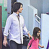 Tom Cruise Pictures With Suri Cruise at NYC Gymnastics Class