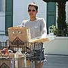 Halle Berry Pictures Shopping at Bristol Farms