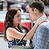 Pictures of Ed Westwick and Leighton Meester Sharing a Hug on the Gossip Girl Set