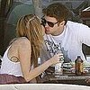 Miley Cyrus and Liam Hemsworth Kissing Pictures