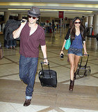 Ian Somerhalder and Nina Dobrev together.