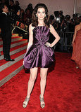 Flirty and fun in retro-inspired Marc Jacobs at the 2009 Met Gala.