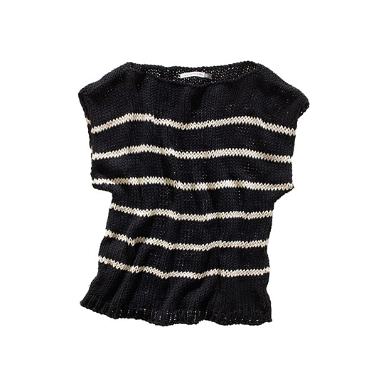 Wool and the Gang Stripey Coco Mariniere Pullover, $125