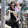 Jennifer Garner and Seraphina Affleck Pictures Shopping in LA