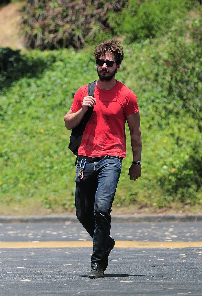 Shia LaBeouf with a beard.