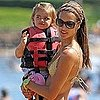 Alessandra Ambrosio Bikini Pictures With Daughter Anja