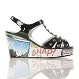 Beano Cartoon Wedge in Black ($201)