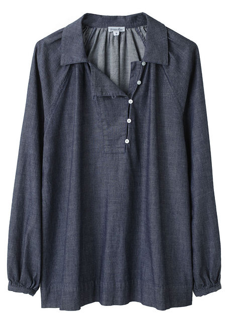 A Denim Blouse