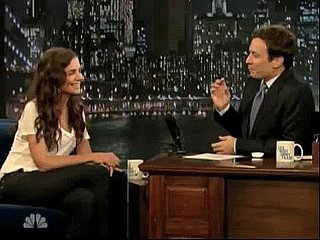Video of Katie Holmes Dancing While Driving on Late Night With Jimmy Fallon