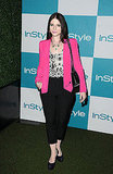 Michelle Trachtenberg smiles at the 10th annual InStyle Summer soiree.