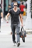 Alexander Skarsgard in a tight tee.