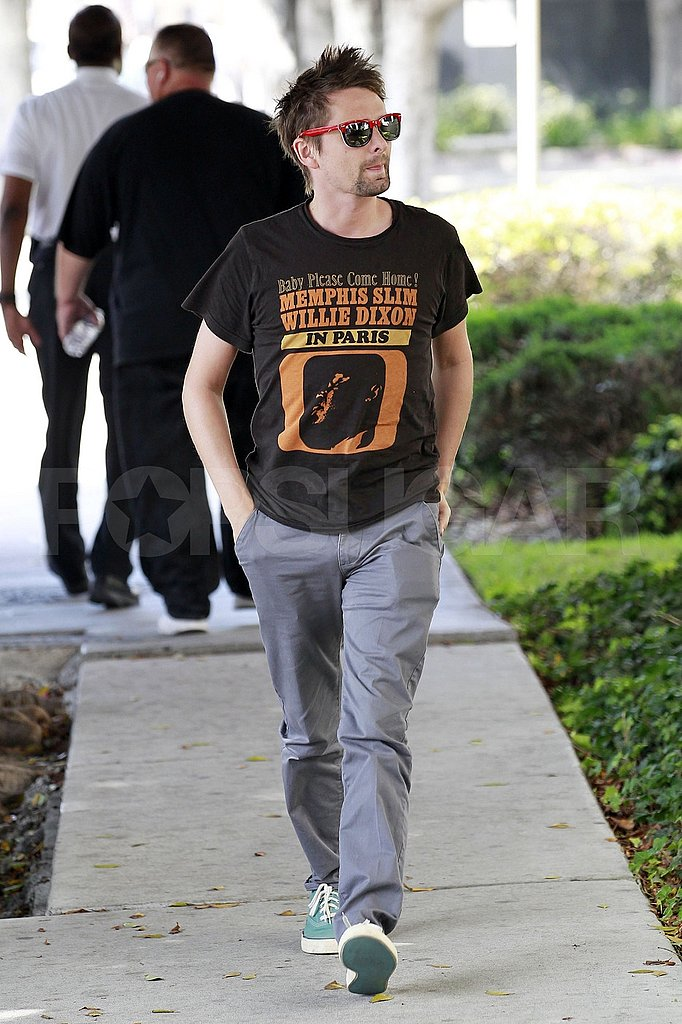 Matt Bellamy out in LA.