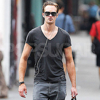 Alexander Skarsgard Pictures Looking Hot in NYC