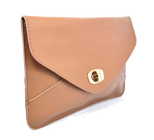 Oversized Leather Clutch ($65)