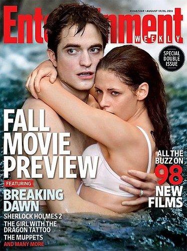 Rob & Kristen On EW Cover + Interview + Magazine scans
