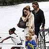 Knox and Vivienne Jolie-Pitt Pictures With Brad and Angelina
