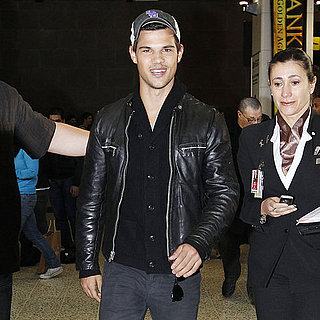 Pictures of Taylor Lautner in Melbourne