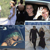 Ryan, Julianne, Ciara, Avril, and More Arrive at Kim Kardashian's Wedding