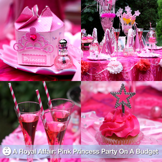 Pink Princess Birthday Party On A Budget