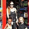 Angelina Jolie Pictures Toy Shopping With Shiloh and Zahara