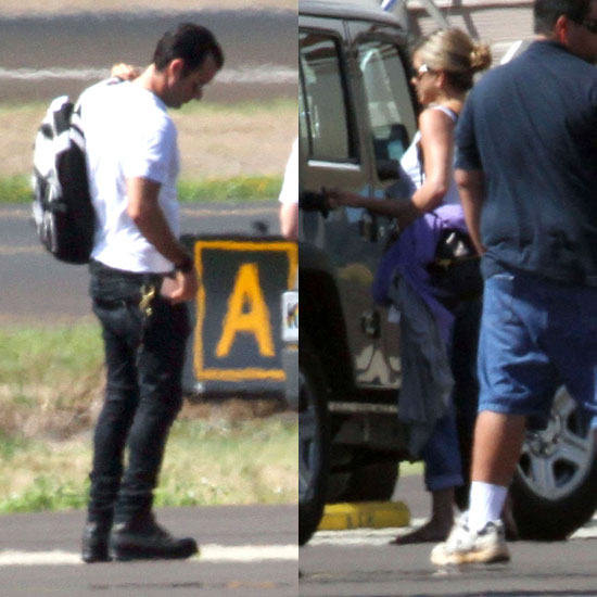 See Jennifer Aniston and Justin Theroux Bid Farewell to Hawaii!