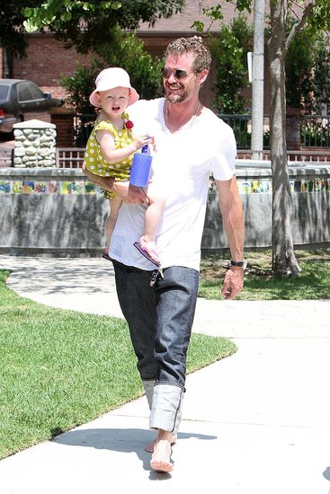 Eric Dane Returns From Rehab and Shares a Smiley Park Day With Billie