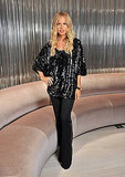 Rachel Zoe wore designs from her own collection to the event.