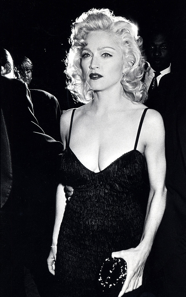 A subtly sexy bombshell look  in 1991.