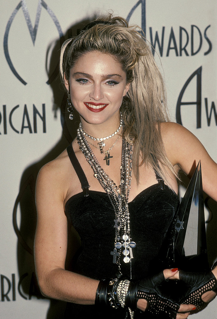 At the AMA awards in 1985.
