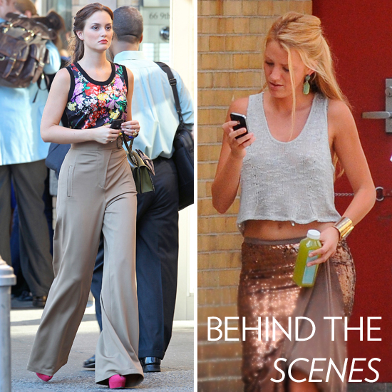 A Sneak Peek of the Gossip Girls' Stylish Outfits Before the New Season Begins!